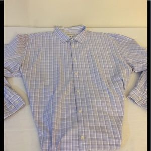 Men's Calvin Klein  plaid dress shirt  sz XXL